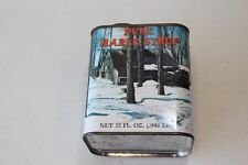 Vintage Pure Maple Syrup Tin 32 oz. Dated 1984 (EMPTY)