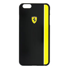 Coque Ferrari Jaune Noir pour mobile Apple iPhone 6 Plus