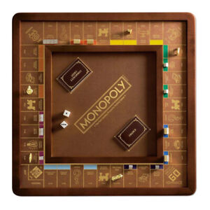 Winning Solutions Monopoly Luxury Edition Wooden Board Game