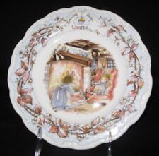 "Royal Doulton, Brambly Hedge - ""Winter"" 8"" salad plate"