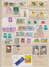 ASIE : 37 timbres oblitérés (Sri Lanka, Indonésie, Japon, Népal...)