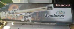 Tasco Luminova 675 Power Refractor Telescope 700 MM x 60 MM Model 40-060675