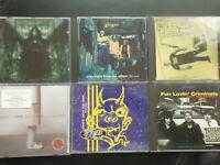 6  CD SET : ROCK , METAL :  CHEVELLE, GINGER , 4FT FINGERS, DIMM/U BORGIR.......