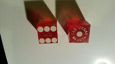 2 Original Casino Würfel aus Las Vegas