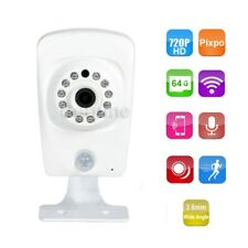 HD 720P Security Camera Wireless IP Wi-Fi Remote SD Card Record Audio Night 1c1