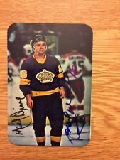 Los Angeles Kings Marcel Dionne signed 1977 78 Topps Super card