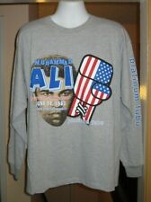 Muhammad Ali Limited Edition Platinum Fubu Long Sleeve Sweat Shirt  Large   New!