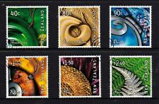 New Zealand 2001 Art from Nature Set of 6 Used