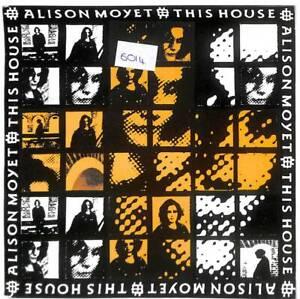"""Alison Moyet This House 7"""" Vinyl Record Single 1991 6575157 Columbia 45 EX"""