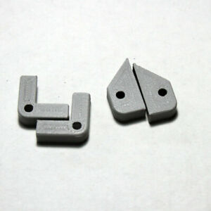 3D Printed Logan Metal Lathe 9,10,11,12 Wiper Retainers for felt wipers LP-1692