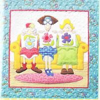 1 Little, 2 Little, 3 Little Quilters - fun Amy Bradley applique PATTERN