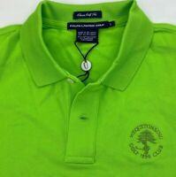 Ralph Lauren Womens Polo Shirt Green Wequetonsing Golf Club Short Sleeves L New