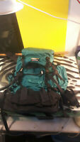 LL Bean Mountain Trek Large Hiking Backpack Decent Condition Camping