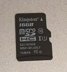 16GB Kingston MicroSD HC Class 10 UHS Class 1 (up to 20% off with multi buy)