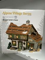 Department 56 Alpine Village Goat Herders House - New In Box - VERY Rare!
