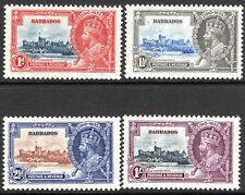 Barbados 1935 Silver Jubilee set mint SG241/242/243/244 (4)