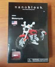 nanoblock USA MOTORCYCLE Miniature Building Blocks NBM_006  NIB