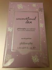 LE Philosophy UNCONDITIONAL LOVE Eau de Parfum 4 oz NRFB W/INSURANCE