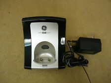 GE Phone Base Charger Black/Silver Cradle Handset Stand 25931EE2-A