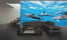 DOLPHINS IN THE SEA Wall Mural Photo Wallpaper GIANT DECOR Paper Poster