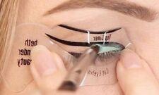 Set di 2 stencils applicazione precisa eyeliner occhi no imperfezioni sbavature