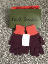 Men's Paul Smith Gloves Brands New With Tags And With Box