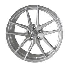 "20"" Quantum44 SFF1 Wheels Quartz Silver Audi A4 A6 A8 5x112 Massive Concave"