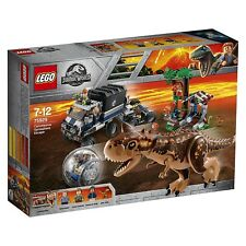 Lego Jurassic World Carnotaurus vs Gyrosphere 75929