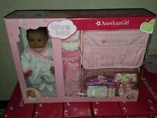 14 Piece American Girl Bitty Baby & Layette Set Medium Skin