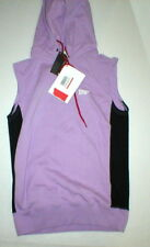 NWT Womens New Italy Pharmacy Industry PHCY Purple Hoodie Top Sleeveless S Small