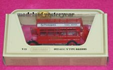 Models of Yesteryear Y-23 1922 A.E.C. S Type Omnibus White Schweppes Lesney Box