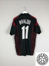 AC Milan RIVALDO #11 02/03 Third Football Shirt (L) Soccer Jersey Adidas