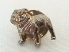 Mack Truck Bull Dog Tie Lapel Pin / Brass Color / NEW Military Defense