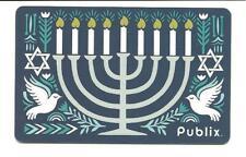 Publix Hanukkah Menorah Star Doves Gift Card No $ Value Collectible
