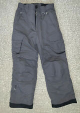 OBERMEYER Junior Girls/BoysSki Snowboard PANTS Grey Adjustable Junior Size 10