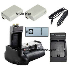 Battery Hand Handle Grip For Canon 550D Rebel T2i T3i T4i T5i+LP-E8+ Car Charger