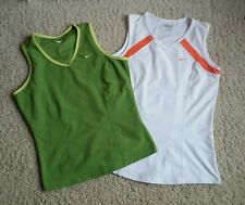 Nike Dri Fit Athletic Yoga Tennis Tank Tops Shirts Women's Size M (Lot of 2)