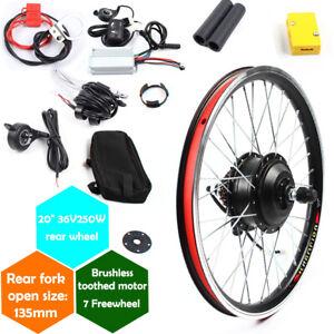 "20"" inch 36V/48V  Front/Rear Wheel E-Bike Conversion Kit 250W/1000W motor"