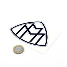 Maybach Sticker Decal Car Badge Vinyl 100mm x2