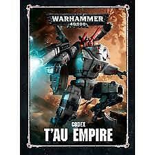 Warhammer 40K Codex Tau Empire NEW