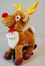 Vintage Rudolph Red Nose Reindeer - Toy Network - Plush Christmas Toy