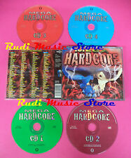 CD Mega Hardcore Compilation BOX 4 CD no mc vhs dvd(C39)