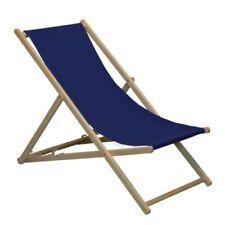Chaises de jardin et de terrasse bleus en bois