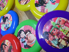 12 Wreck It Ralph mini frisbees birthday party favor, treat bags, Sugar Rush