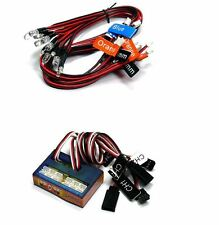 NEW Kit éclairage LED voiture RC,GT power,13 led, radio PPM/FM/FS 2,4 Ghz