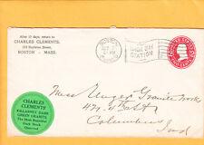 Charles Clements Boston 1910Bay Flag Green Sticker Killarney Green Granite Z3