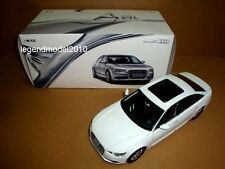 1/18 China 2012 new Audi A6L white color + SMALL GIFT!!!!!