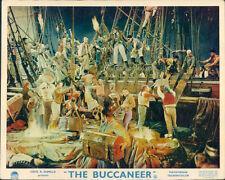 THE BUCCANEER CHARLTON HESTON YUL BRYNNER CECIL B DEMILLE LOBBY CARD set of 8