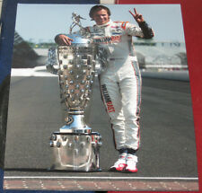 Dan Wheldon 2011 Indianapolis 500 Champion Trophy 8x10 Photo Indy Racing Picture
