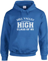 Hill Valley Class of 85, Back to the Future inspired Printed Hoodie UK Jumpers